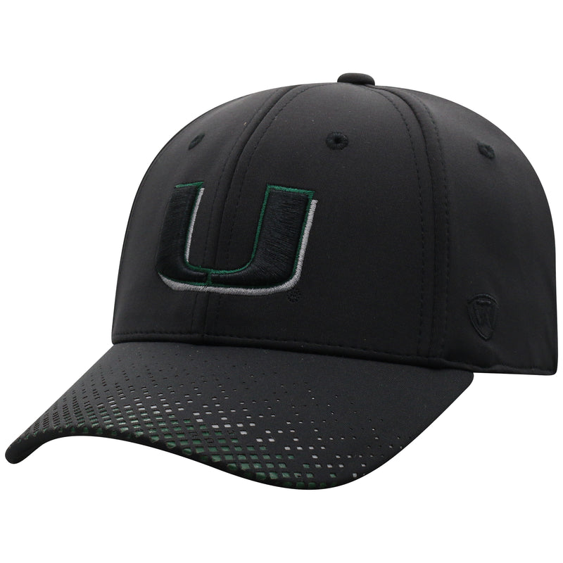 Miami Hurricanes Top of the World Lumens One Fit Black