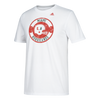 Miami Hurricanes adidas 2017 Distressed Legend Medallion T-Shirt - White