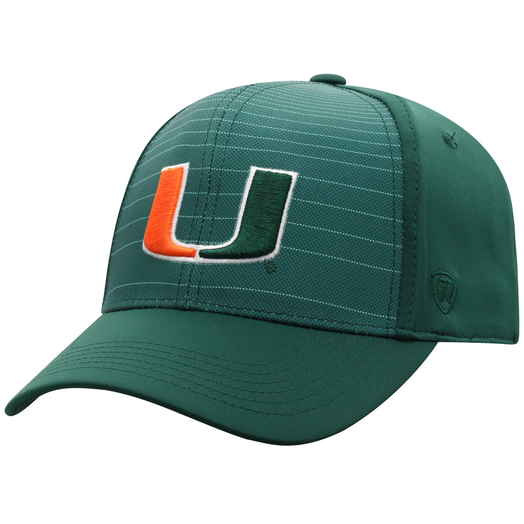 Miami Hurricanes 2019 Top of the World McGavin One Fit Green