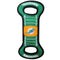 Miami Dolphins Football Field Pet Tug Toy - CanesWear at Miami FanWear Pet Gear Pets First CanesWear at Miami FanWear
