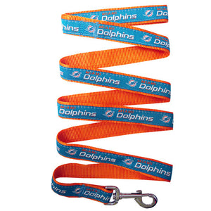 Miami Dolphins Pet Leash - CanesWear at Miami FanWear Pet Gear Pets First CanesWear at Miami FanWear