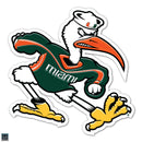 "Miami Hurricanes Ibis Wall Graphic 25"" - CanesWear at Miami FanWear Decals & Stickers SDS Design Associates CanesWear at Miami FanWear"