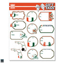 Miami Hurricanes Everyday Gift Tags - 13 pk.