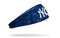 New York Yankees Stretch Headband - Splatter Navy