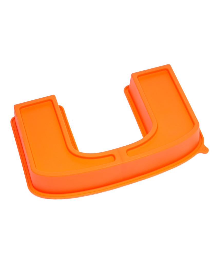 Miami Hurricanes U Cake Pan - CanesWear at Miami FanWear Kitchenware Miami FanWear CanesWear at Miami FanWear