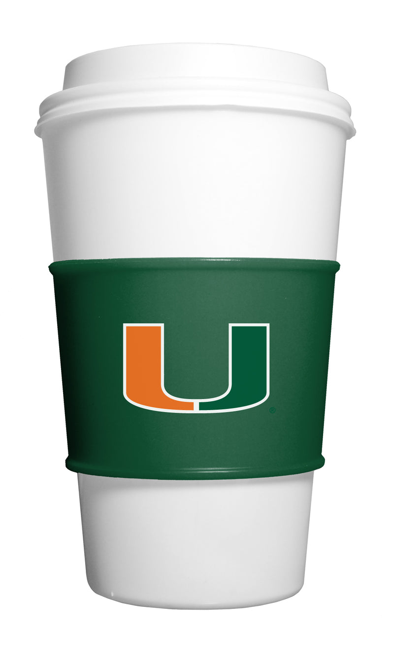 Miami Hurricanes Team Gripz Cup Sleeves by FANPANs
