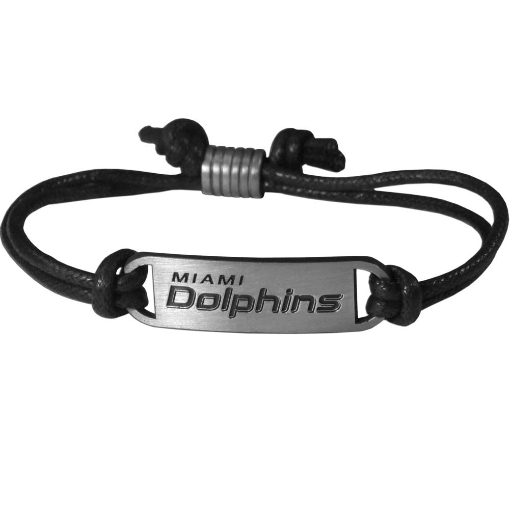 Miami Dolphins Cord Bracelet - CanesWear at Miami FanWear  CanesWear at Miami FanWear CanesWear at Miami FanWear