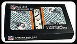 Miami Dolphins Playing Card Set - CanesWear at Miami FanWear Toys & Games Miami FanWear CanesWear at Miami FanWear