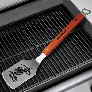 Miami Heat Sportula Grilling Spatula - CanesWear at Miami FanWear BBQ Supplies Sportula Products CanesWear at Miami FanWear