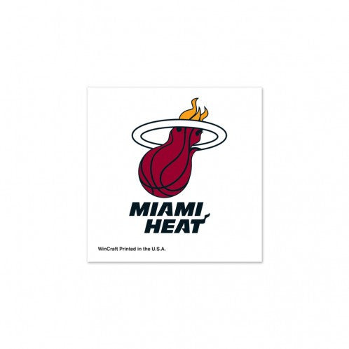 Miami Heat Temporary Tattoos 4-Pack 72384091 WC - CanesWear at Miami FanWear Tattoos WinCraft CanesWear at Miami FanWear