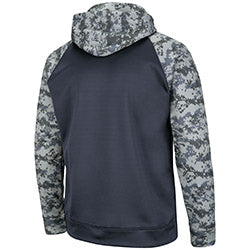 Miami Hurricanes Colosseum OHT Digi Camo Pullover Hoodie - Charcoal