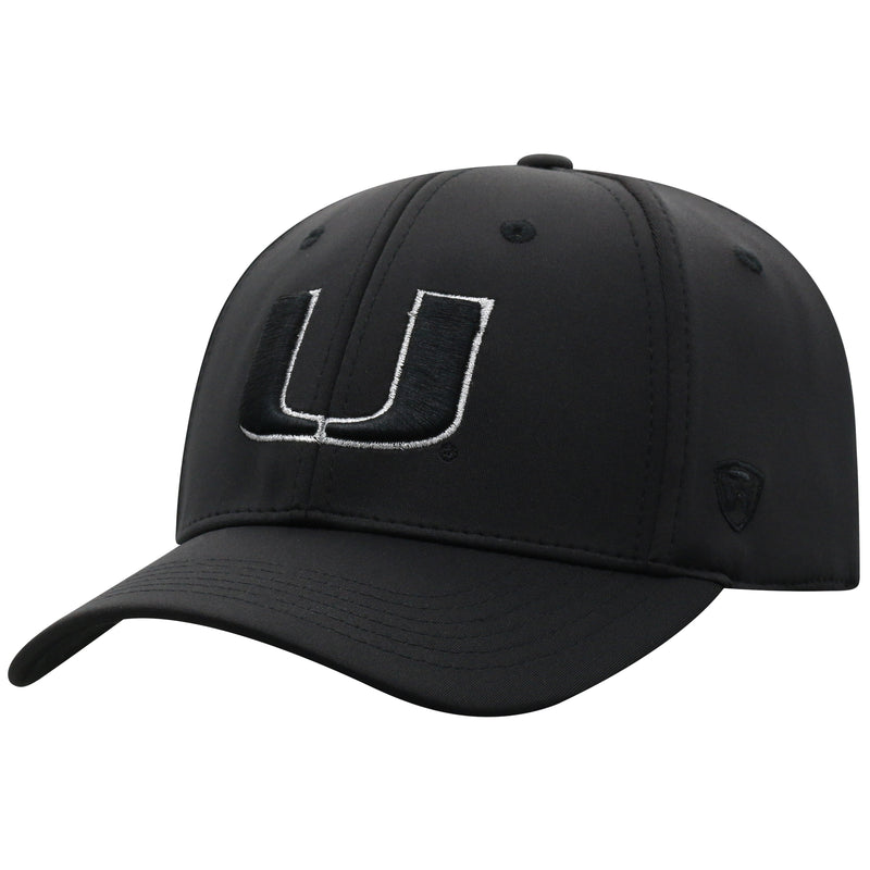Miami Hurricanes Phenom Top of the World OneFit - Black