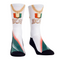 Miami Hurricanes 305 Turnover Chain Pendant Crew Socks