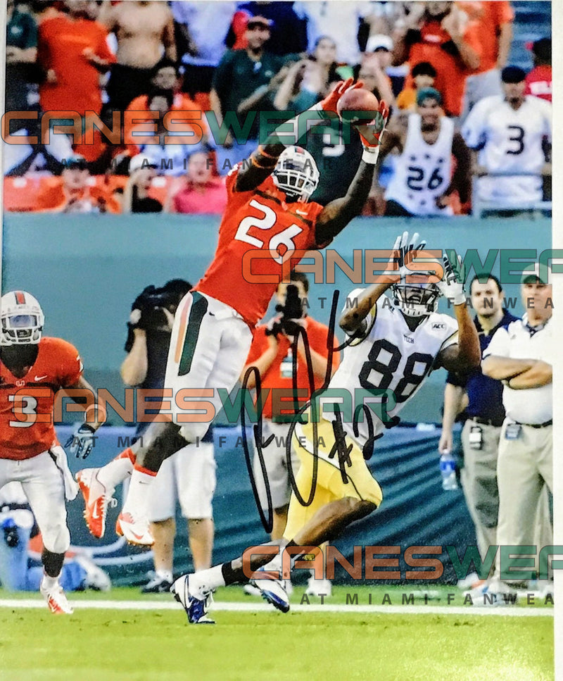 Autographed Rayshawn Jenkins Photo with Signature 8 x 10