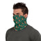 Miami Hurricanes Mini Logo Repeat Neck and Face Gaiter Scarf