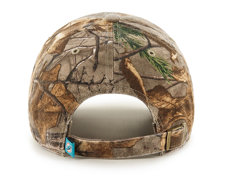 Miami Dolphins Realtree Clean Up Realtree 47 Brand Adjustable Hat - CanesWear at Miami FanWear Headwear 47 Brand CanesWear at Miami FanWear