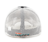 Miami Dolphins Taylor Closer Charcoal 47 Brand Stretch Fit Hat - CanesWear at Miami FanWear Headwear 47 Brand CanesWear at Miami FanWear