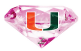 Miami Hurricanes Flippy Magz Diamond Reversible Magnet - CanesWear at Miami FanWear Decals & Stickers Flippy Magz CanesWear at Miami FanWear