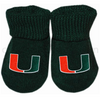 Miami Hurricanes Gift Box Booties by CK - 3 Different Colors