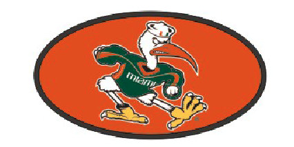 "Miami Hurricanes Ibis Hitch Cover 2"" - CanesWear at Miami FanWear Automobile Accessories Craftique CanesWear at Miami FanWear"