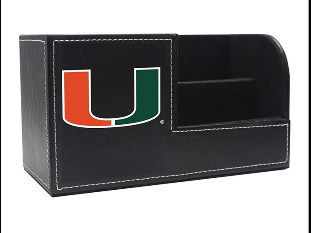 Miami Hurricanes Executive Desk Caddy