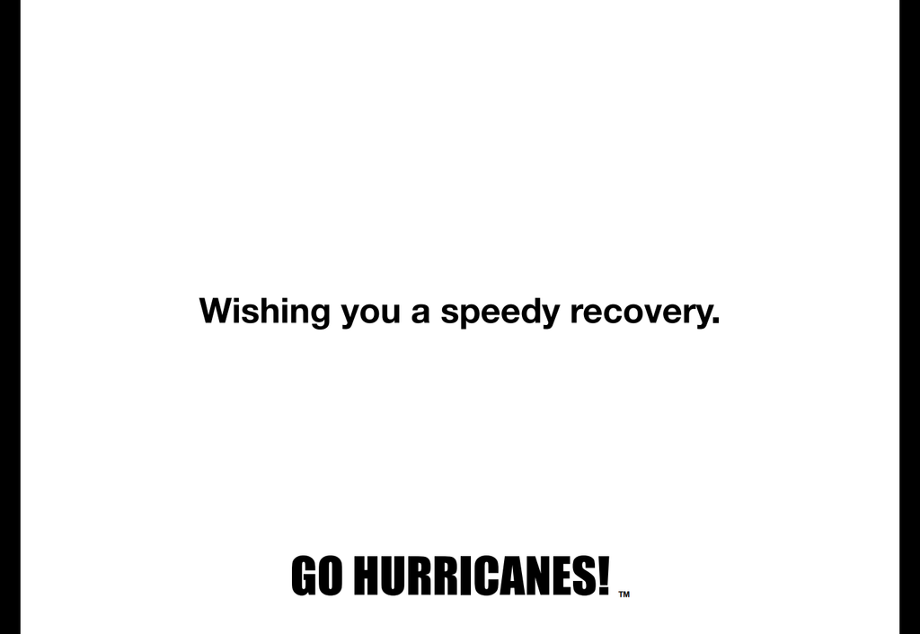 Miami Hurricanes Sympathy Card