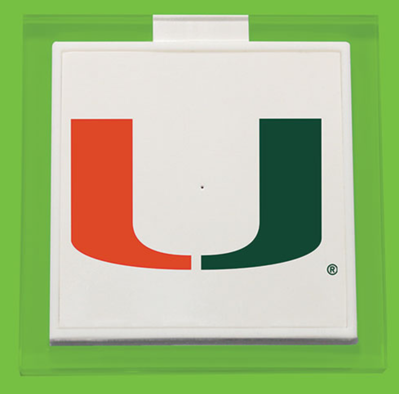 Miami Hurricanes Wireless Charger Pad