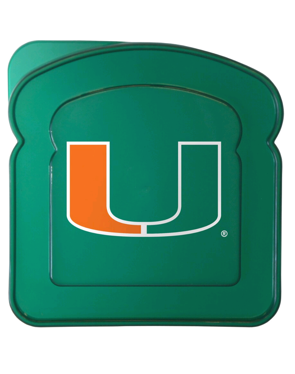 Miami Hurricanes Sandwich Container