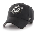 Miami Dolphins 47 Brand MVP - Black - Adjustable
