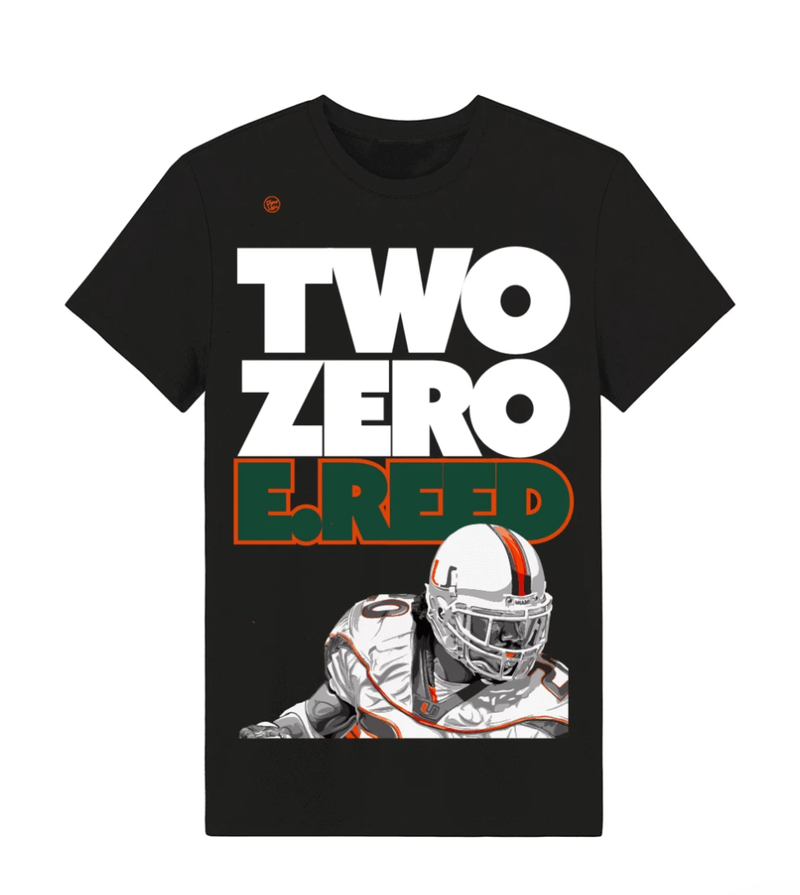 Miami Hurricanes Dyme Lyfe Two Zero HOF Tribute Collection - Black