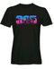 305 Miami Skyline Men's Vice T-Shirt - Black