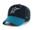 Miami Marlins '47 Brand Cooperstown Stretch Fit Hat