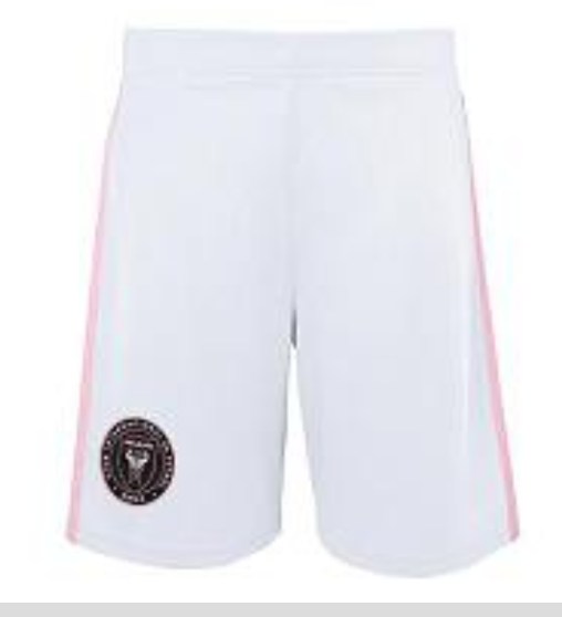 Inter Miami CF MLS adidas Youth Fan Shorts - White