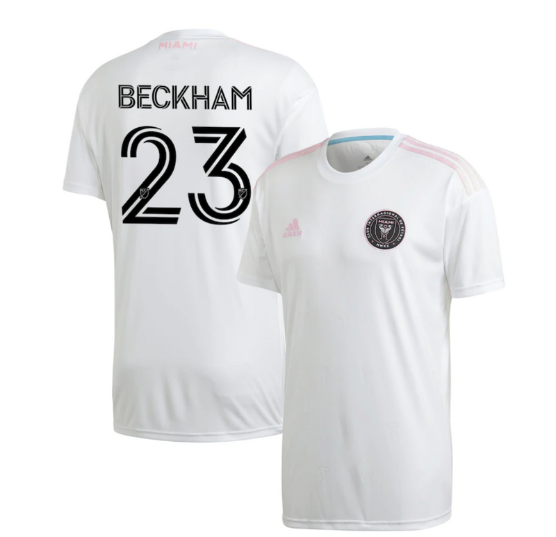 Inter Miami CF 2020 IMCF Youth David Beckham Home Jersey