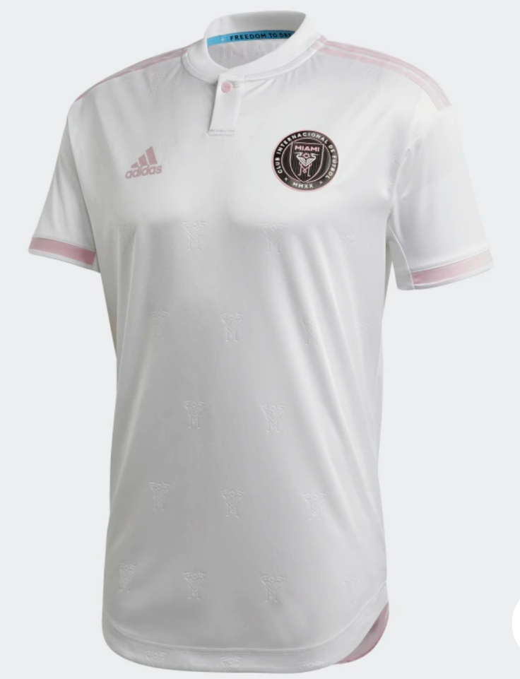 Inter Miami CF 2020 IMCF Authentic Home Soccer Jersey - White