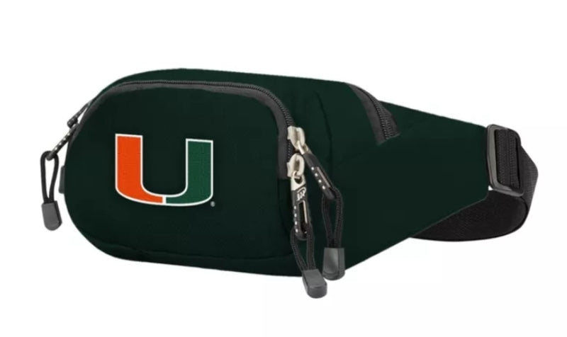 Miami Hurricanes Fanny Pack - Green