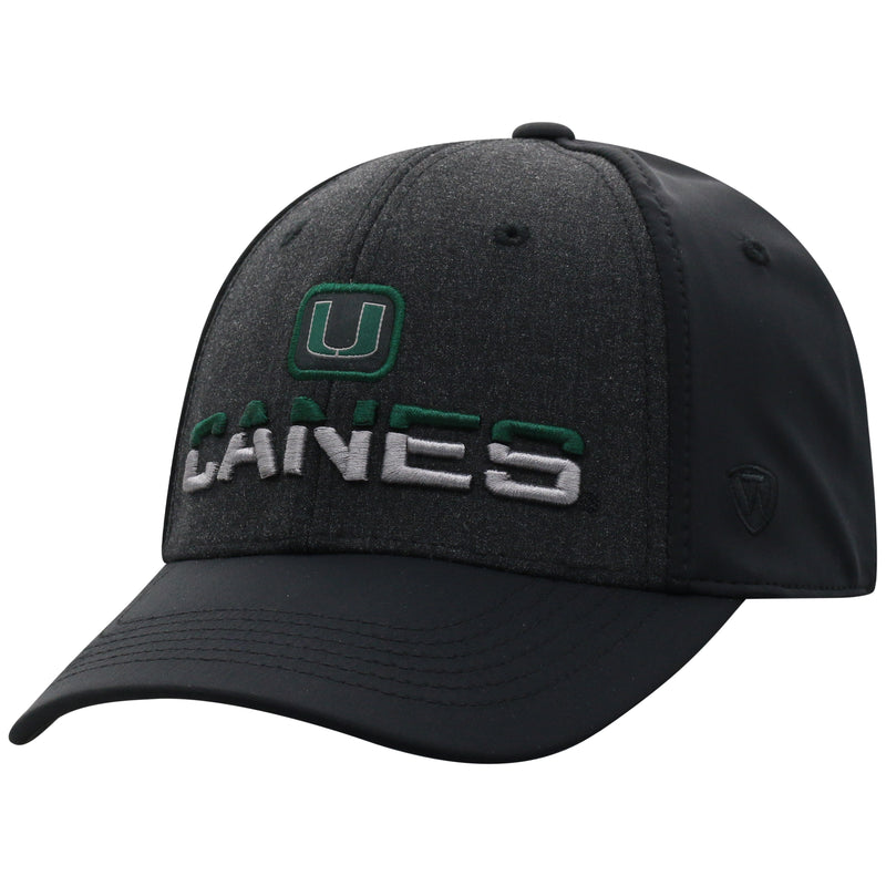 Miami Hurricanes Top of the World Tag One Fit Two-Tone