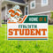 Miami Hurricanes Home of a Miami Student Lawn Sign