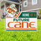 Miami Hurricanes Home of a Future Cane Sebastian Lawn Sign