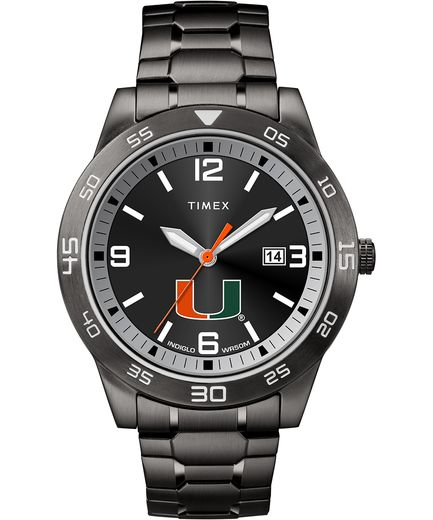 Miami Hurricanes Men's Acclaim Timex Watch