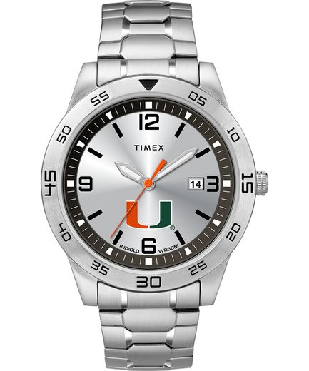 Miami Hurricanes Men's Citation Timex Watch