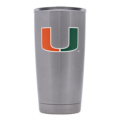 Miami Hurricanes GameTime SideKicks S/S Tumbler-20 Ounces