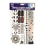 Miami Hurricanes Temporary Foil Tattoos- Metallic Body Jewelry - CanesWear at Miami FanWear Jewelry St. Louis Wholesale CanesWear at Miami FanWear