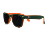 Miami Hurricanes Folding Sunglasses - CanesWear at Miami FanWear Sunglasses Glass U CanesWear at Miami FanWear