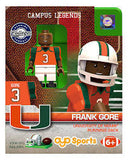 Miami Hurricanes Oyo Minifigure Generation 1 - Frank Gore - CanesWear at Miami FanWear Toys & Games St. Louis Wholesale CanesWear at Miami FanWear