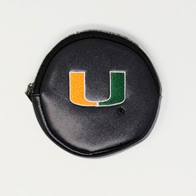 Miami Hurricanes Luca Wallet – Black