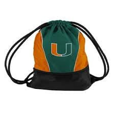 Miami Hurricanes Sprint Backpack - CanesWear at Miami FanWear Tailgate Gear Logo CanesWear at Miami FanWear