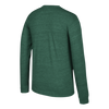 Miami Hurricanes adidas 2017 Vintage L/S Tri-Blend - Heather Green
