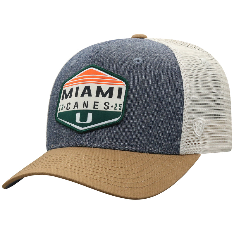 Miami Hurricanes Top of the World Wild 1 Adjustable Three-Tone