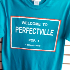 Welcome To Perfectville T-Shirt - CanesWear at Miami FanWear Men's T-Shirt Miami FanWear CanesWear at Miami FanWear